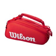 Torba tenisowa Wilson Super Tour 9 Red