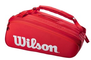 Torba tenisowa Wilson Super Tour 15 Red